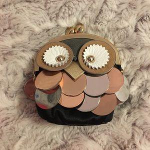 Kate spade owl coin purse